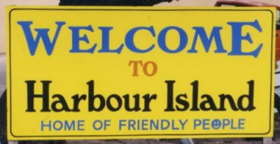 Harbour Island Sign